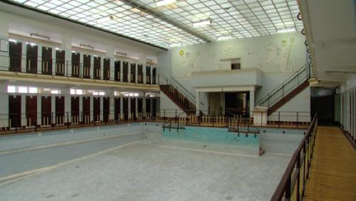 L'ancienne piscine ouverte aux visites