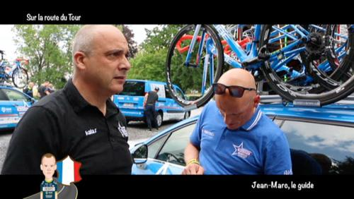 Jean-Marc Rossignon, guide des coureurs Wanty-Groupe Gobert
