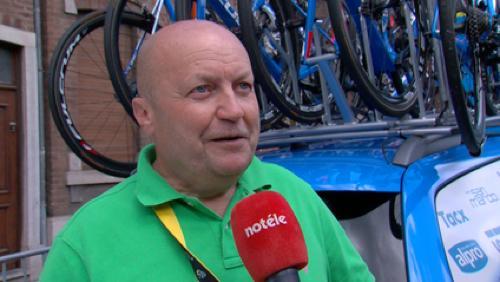 Pascal Eeckhout:  commissaire anti-dopage sur le Tour