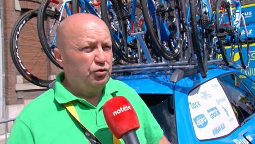 Pascal Eeckhout, commissaire anti-dopage sur le Tour