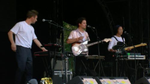Le groupe Ulysse au festival Les Ardentes à Liège