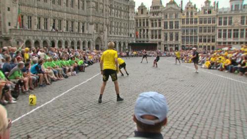 Isières et Thieulain au GP de balle pelote de la Ville de Bruxelles