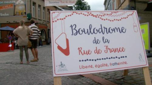 La rue de France fête le 14 juillet