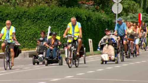 175 kilomètres en chaise roulante