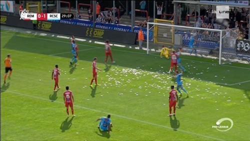 Mouscron battu par Charleroi 2-5