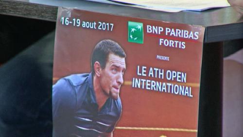 """Début du 18ème tournoi de tennis en fauteuil, """"Ath Open"""""""