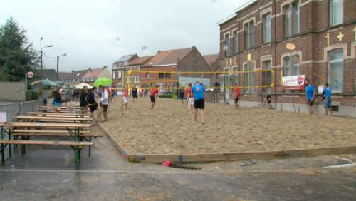 Le beach-volley de Pipaix bien arrosé