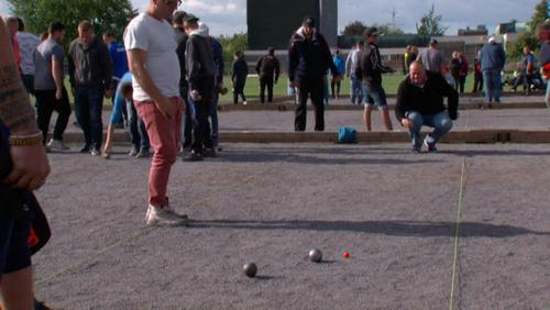 Premier national de pétanque à Tournai