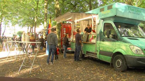 Halte à Tournai pour le Food Truck Festival