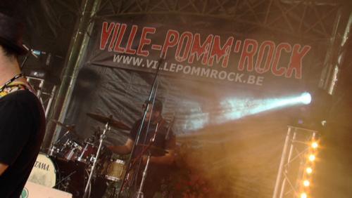 Ville-Pomm'rock a mis le feu au kiosque !