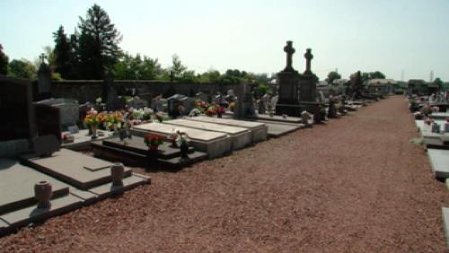 Le cimetière d'Harchies s'agrandit