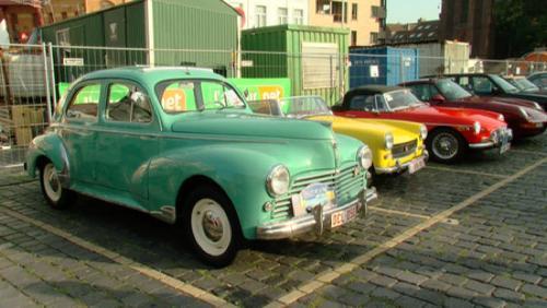 Une centaine de véhicules anciens au Rallye de la Paix