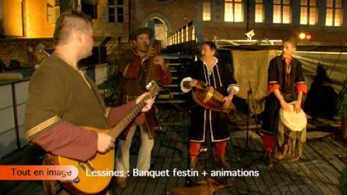Banquet festin + animations