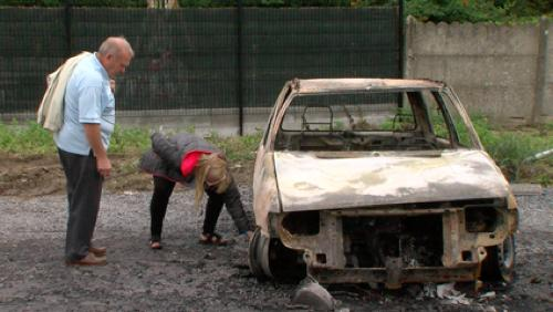 Nouvelle voiture incendiée à Néchin