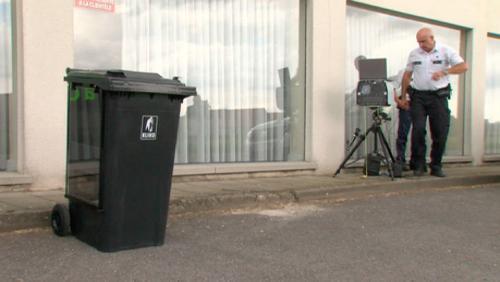 Comines: le radar-poubelle fait le buzz