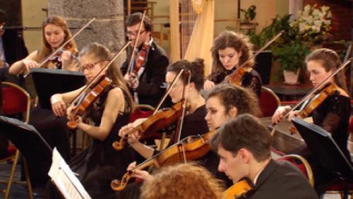 Lorenzo Gatto et le Young Belgian Strings au Château de Beloeil