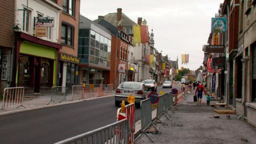 La rue du Fort à nouveau fermée