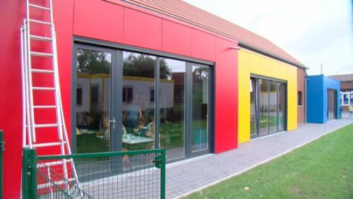 L'école libre en reconstruction