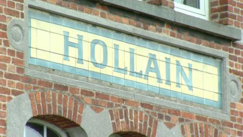 Découverte de l'ancienne gare d'Hollain !