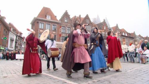 Tournai a célébré sa 925 ème  Grande Procession