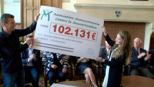 Un million d'euros contre la mucoviscidose