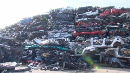 Des voitures recyclées à près de 100%