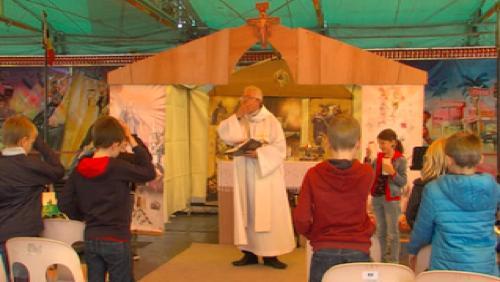 La messe des forains à Tournai