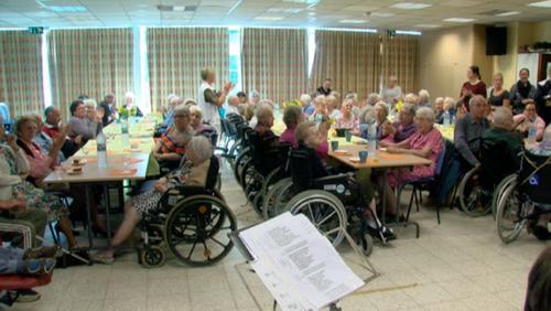 Après-midi récréative et conviviale pour sensibiliser à la maladie d'Alzheimer