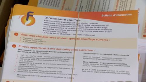 Fonds social chauffage et achat groupé mazout
