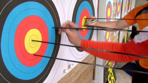 Tir à l'arc : championnat du Hainaut