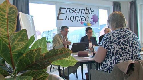 """Présentation du parti """"Ensemble Enghien"""""""