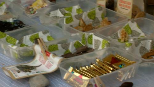 Lancement de la semaine du commerce équitable sur le marché fermier de Tournai
