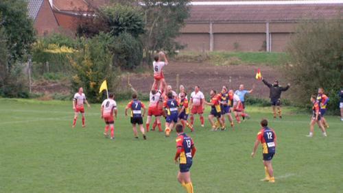 Rugby - Rég. 1 : Rugby club tournai - standard chaudfontaine