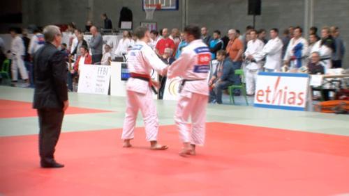 Quelques régionaux qualifiés pour le championnat de Belgique de judo