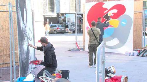 Des graffeurs pour lutter contre la pauvreté