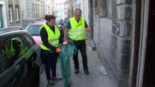 Tournai Refuge rassemble des bénévoles pour nettoyer St Piat