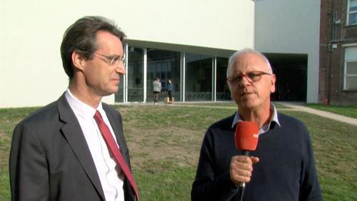 Tournai: inauguration de LOCI ((Saint-Luc)
