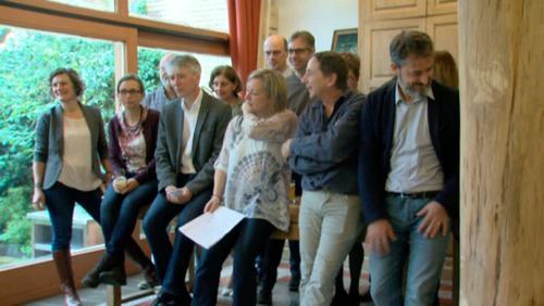 Conférence de presse Ecolo à Enghien