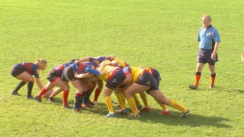 Première saison de la section féminine du Rugby Club Tournai