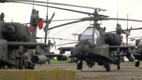 89 Hélicos à la base aérienne de Chièvres