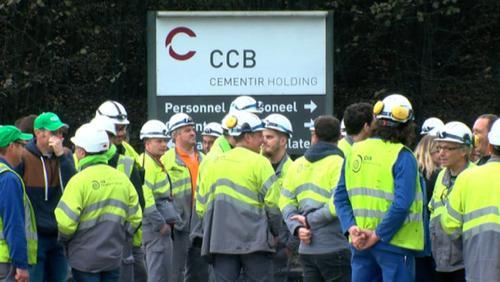 Les travailleurs de la CCB en grève