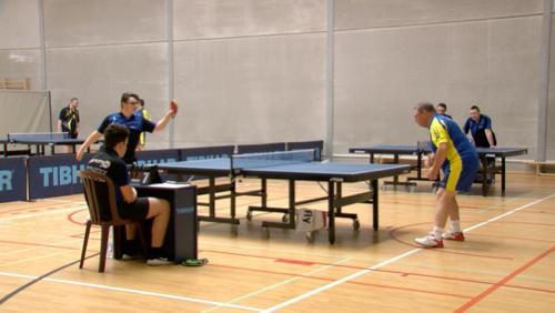 """Tennis de Table: la """"Palette Blicquy"""", un club très familial"""