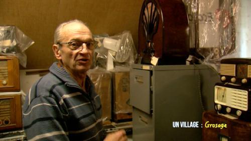 René, le collectionneur de vieilles radios