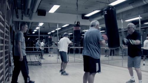 Ils boxent encore à plus de 70 ans