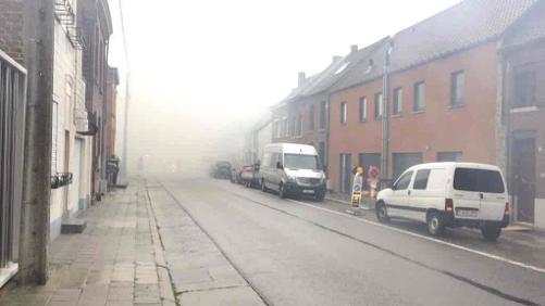 Incendie à la rue des Viviers au Bois à Beloeil