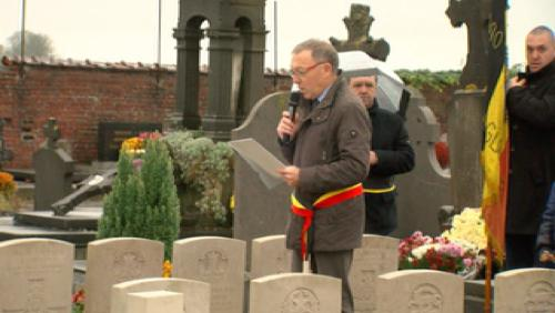 A Taintignies, le souvenir de la Grande Guerre reste vif