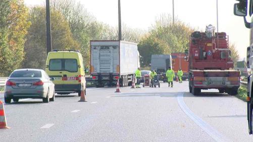 C'est parti pour le chantier de réfection du pont de Pommeroeul sur l'E42