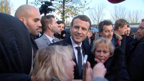 Les solutions de Macron en visite à la Bourgogne