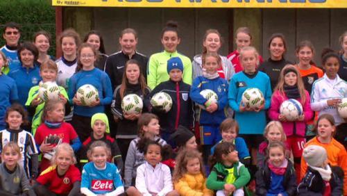 Le foot festival d'Havinnes attire plus de 60 filles