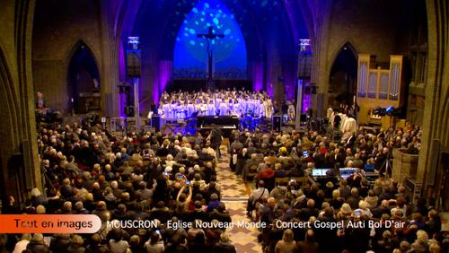 Eglise Nouveau Monde - Concert Gospel Auti Bol D'air